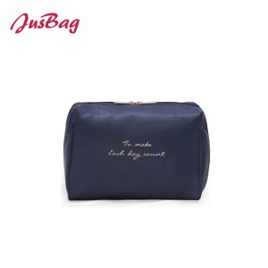 Waterproof printed make up bag-multi color