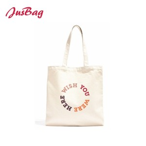 Shopping bag-canvas-letter