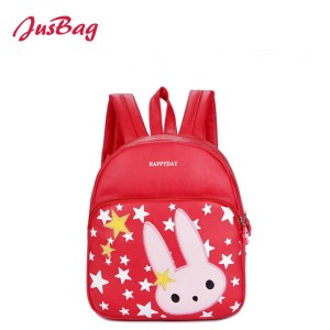 Children backpack-PU leather-rabbit