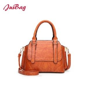 Lady handbag vintage pu leather-multi color