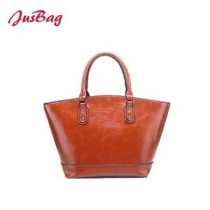 New lady vintage tote bag-brown