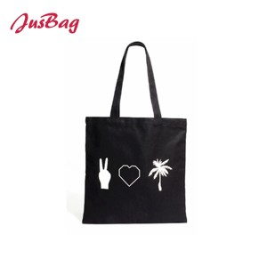 Shopping&beach bag-PU leather-black