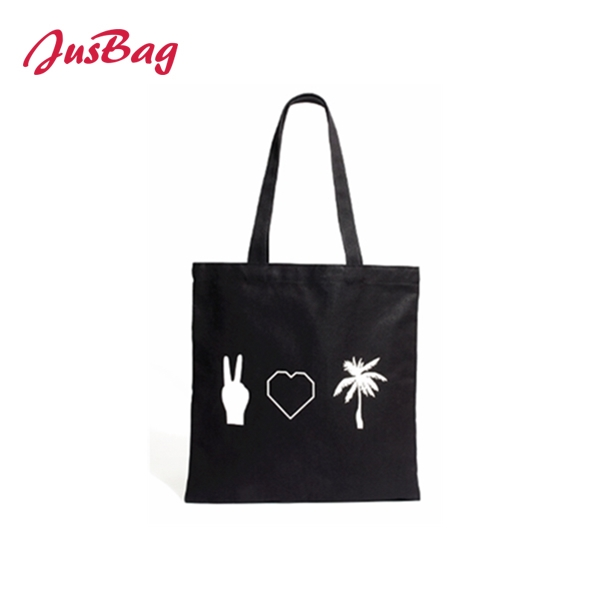 Shopping&beach bag-PU leather-black Featured Image