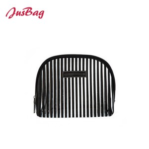 PVC waterproof make up bag-stripes