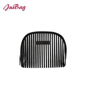PVC waterproof make up bag-stripes
