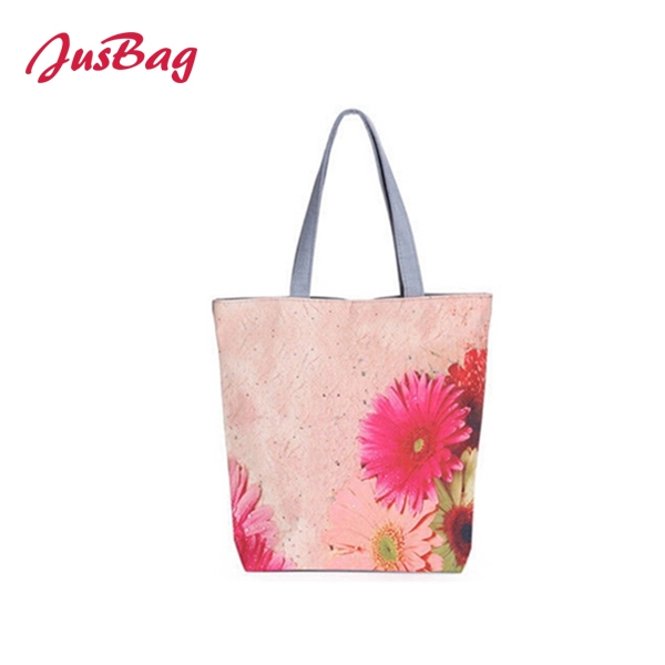 Shopping&beach bag-canvas-flowers Featured Image