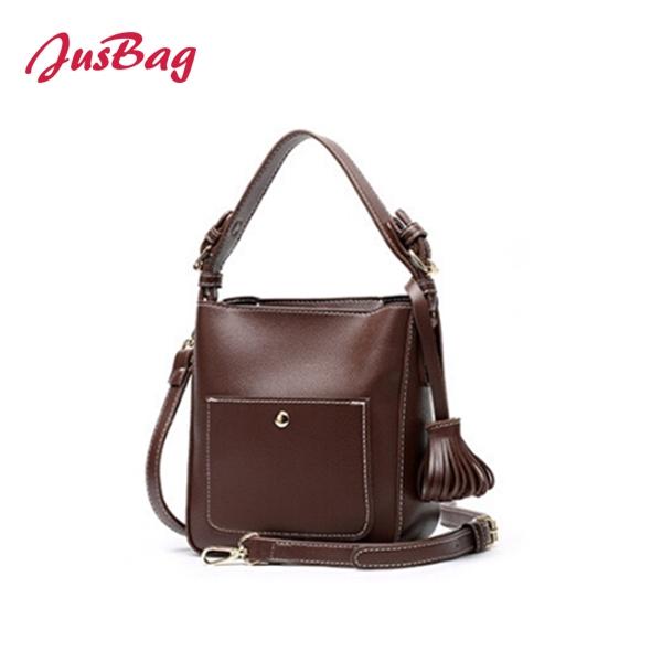 Tassels square shoulder bag-multi color Featured Image