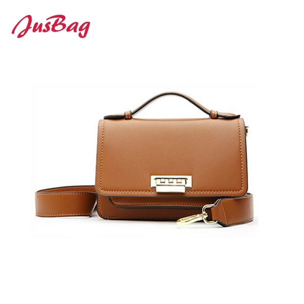 Basic square pu leather clutch with wide belt-multi color Featured Image