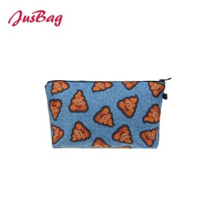 Make up bag pencil pouch-emoji