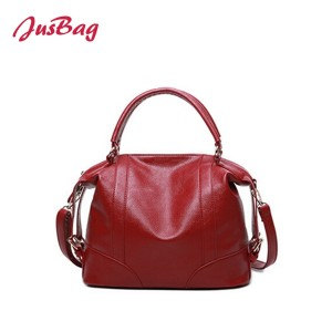 PU office big capacity hand bag-multi color