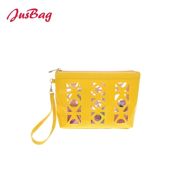 Hand bag-yellow-pierced Featured Image