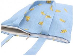 Shopping&beach bag-canvas-bananas