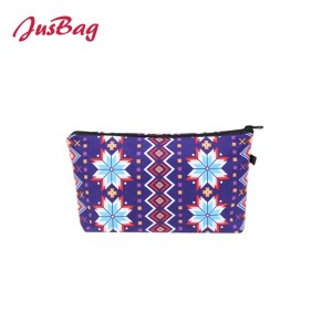 Make up bag pencil pouch-ethnic printed