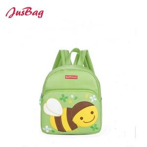 Children backpack-bee