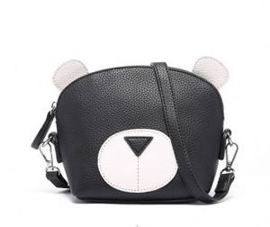 Cartoon shoulder bag-PU leather-multicolor