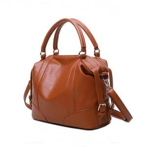 PU office big capacity hand bag-multi color