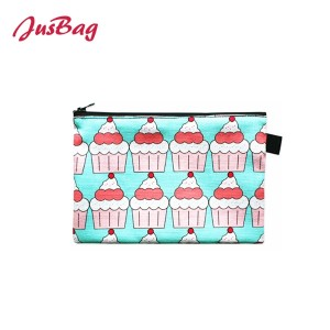 Mini make up bag small pouch-ice cream