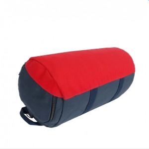 Classic cylinder gym bag duffle-navy