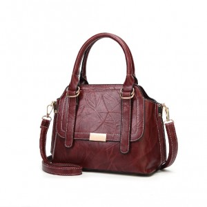 Lady handbag vintage pu leather-multi color