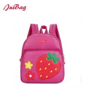 Children backpack-strawberry
