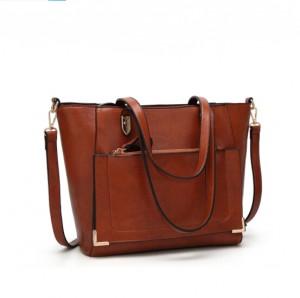 New lady tote bag-original brown