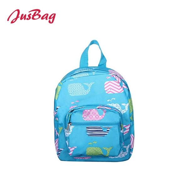 Backpack-polyester-pink、blue、gray Featured Image