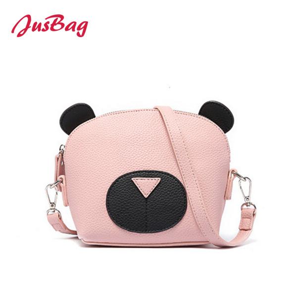 Cartoon shoulder bag-PU leather-multicolor Featured Image