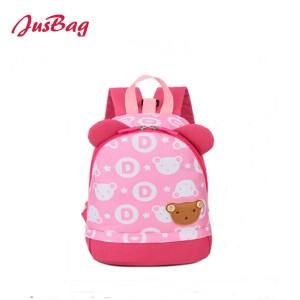 Children backpack-polyester-color splicing