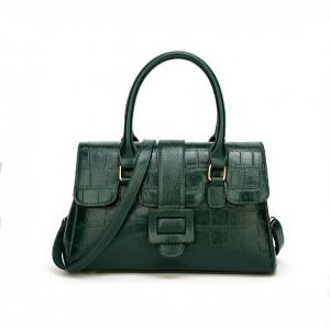 Crocodile grain hand bag- multi color